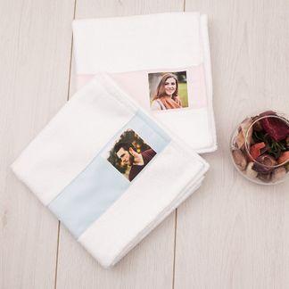 Mr & Mrs 2nd Anniversary Towel
