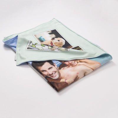 dubbelzijdig bedrukte deken