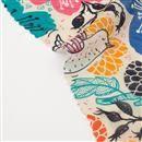 絹 ジョーゼット 布 印刷