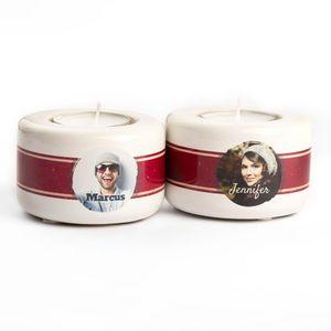 personalised name tea light holders