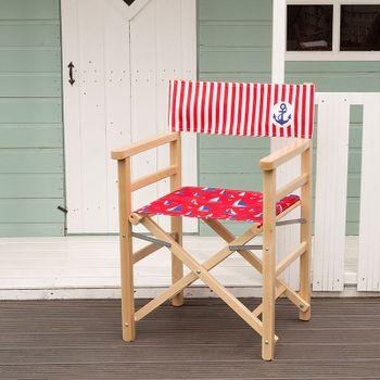 custom director's chair