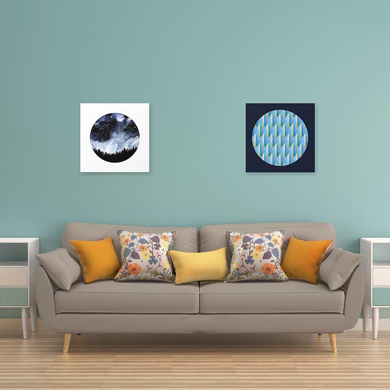 diptych split canvas
