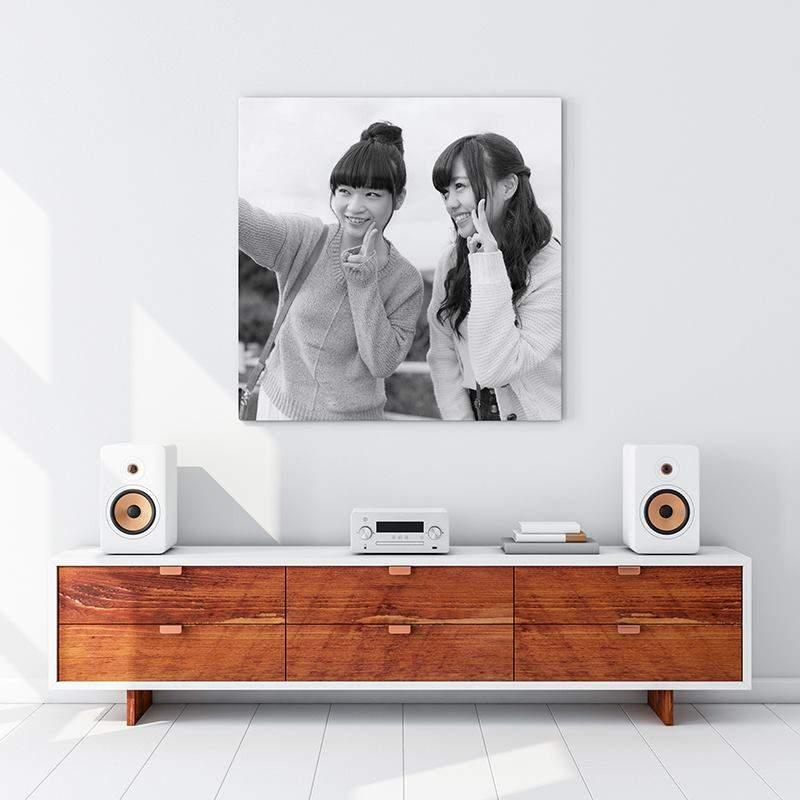 tableau noir et blanc garantie vie. Black Bedroom Furniture Sets. Home Design Ideas
