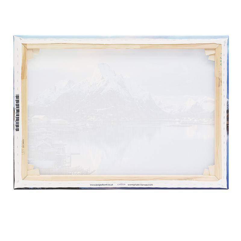 back of split canvas