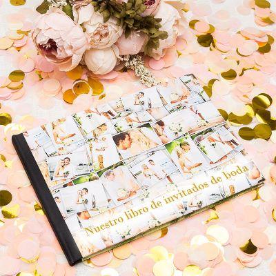 libro de firmas para bodas personalizado