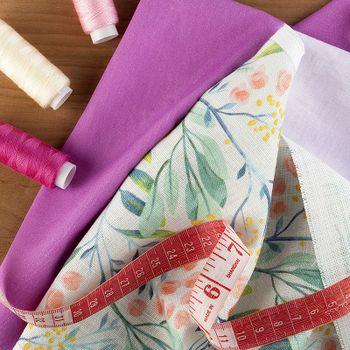 Provtryck på textil