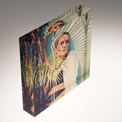 decoratieve foto op acrylglas