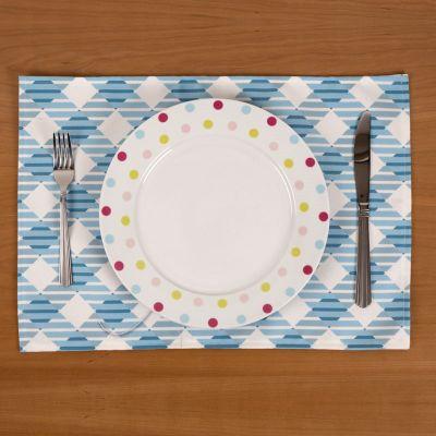 bordstabletter av tyg