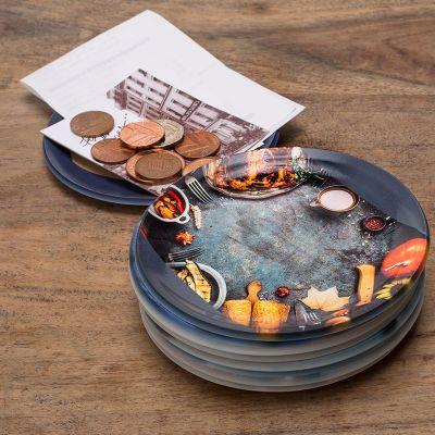 custom coin tray