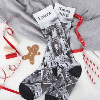 socken bedrucken lassen weihnachten oma und opa