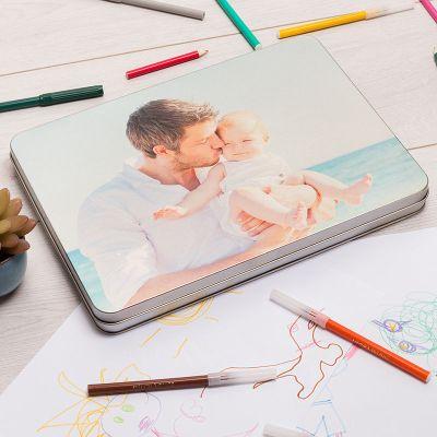 caja metálica personalizada para madres