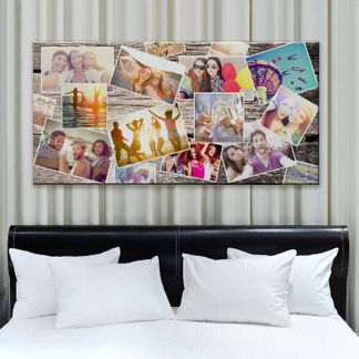 Cuadros con collage de fotos