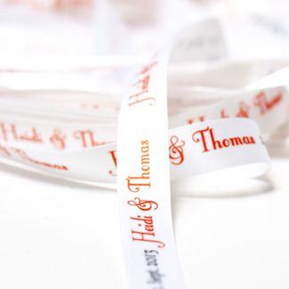 pulseras de tela bodas personalizadas