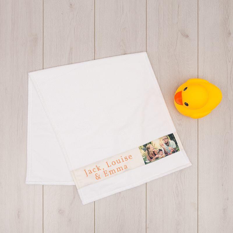 Handtuch Bedrucken Handtuch Selbst Gestalten Mit Fotos Text