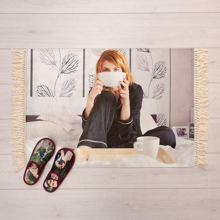 personalised bedside rugs