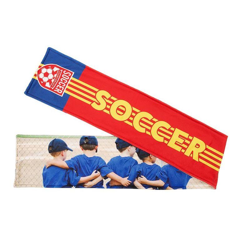 Football Sports Scarf fleece printed