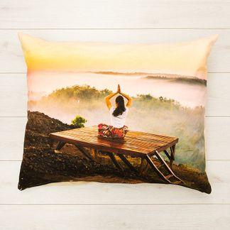 custom meditation cushion with your photo