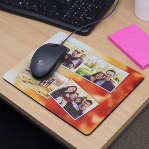 alfombrilla de ordenador con fotos