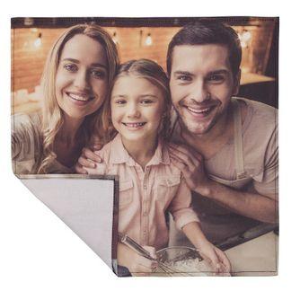 einstecktuch bedruckt mit familienfoto