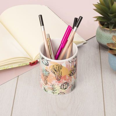 custom pencil cup