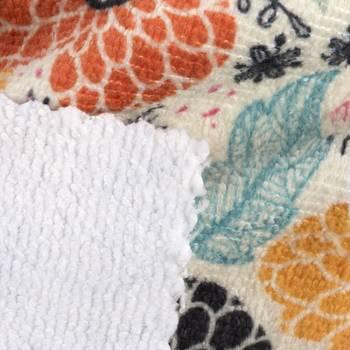 Tissu éponge imprimé Idée Cadeau Photo