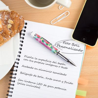 bolígrafos personalizados con fotos