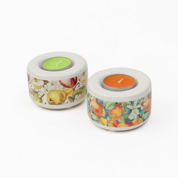 ceramic tealight holder