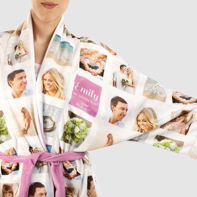 personlig morgonrock kimono
