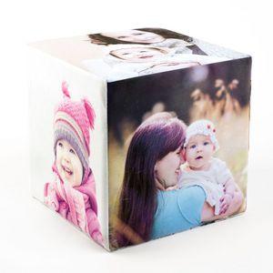 cubo de fotos para madres