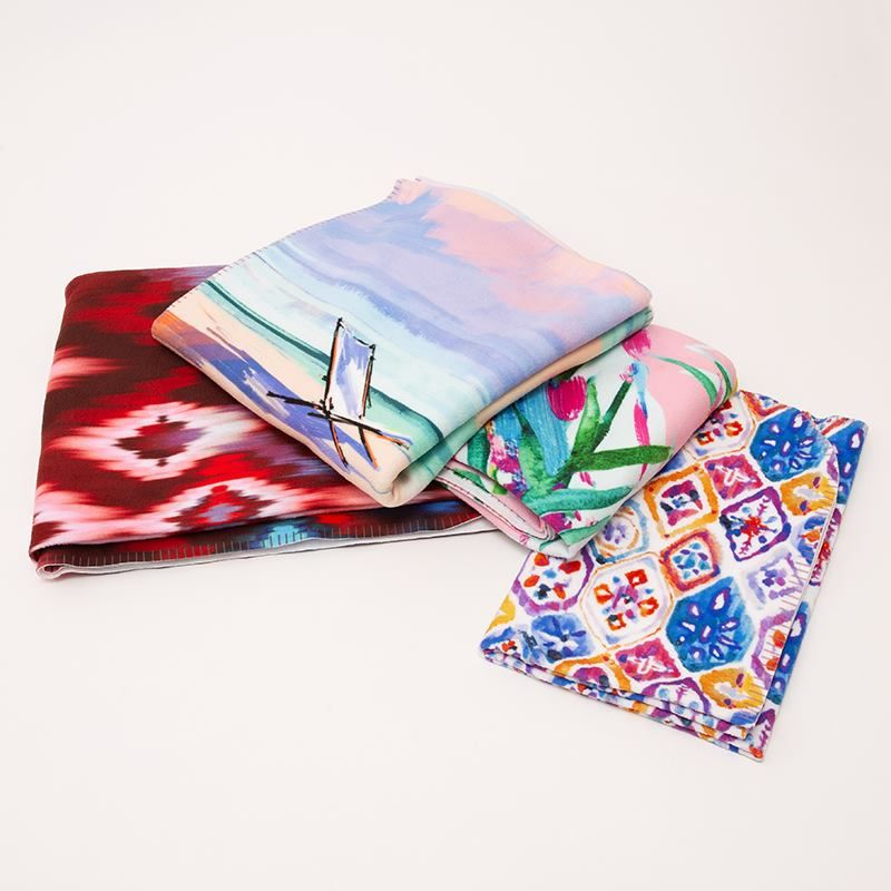 67d6c7b288 Custom Light Summer Blanket Printed with Your Original Designs