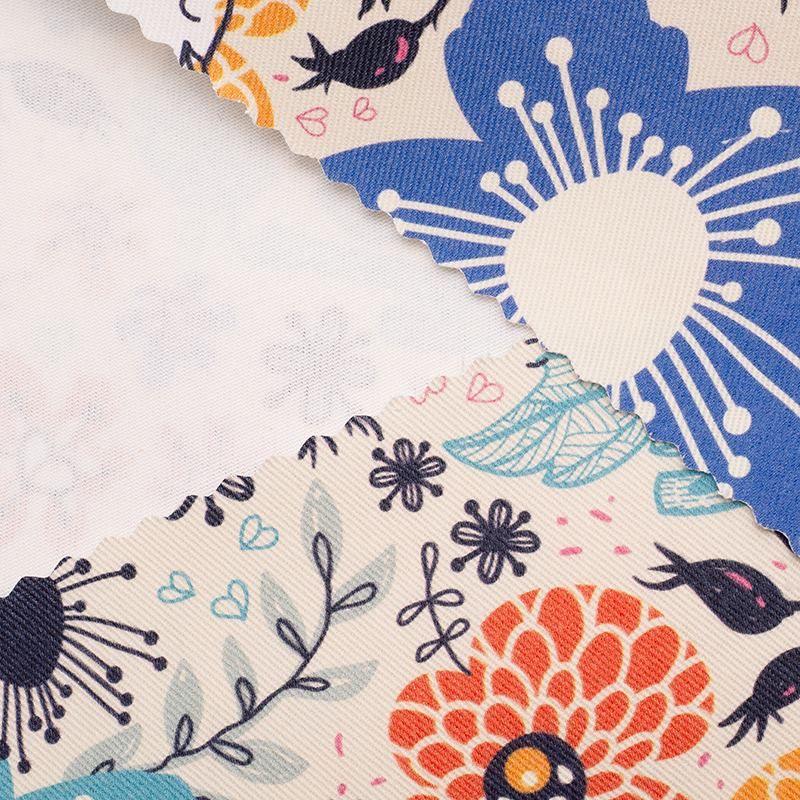 Create cotton drill fabric UK pattern print