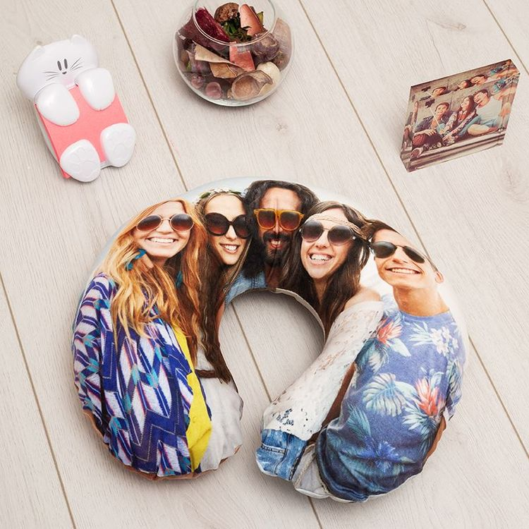 custom photo neck pillow