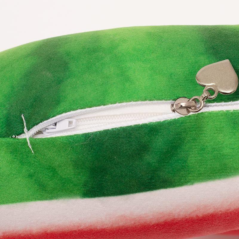 travel neck pillow zipper details