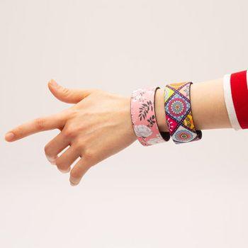 Bracelet en tissu personnalisé