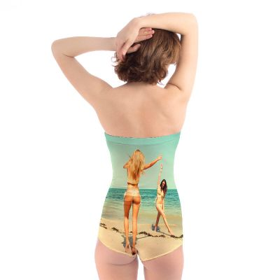 Custom Strapless Swimsuit