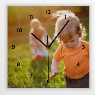 personalized photo clocks
