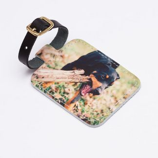 customised school bag tag