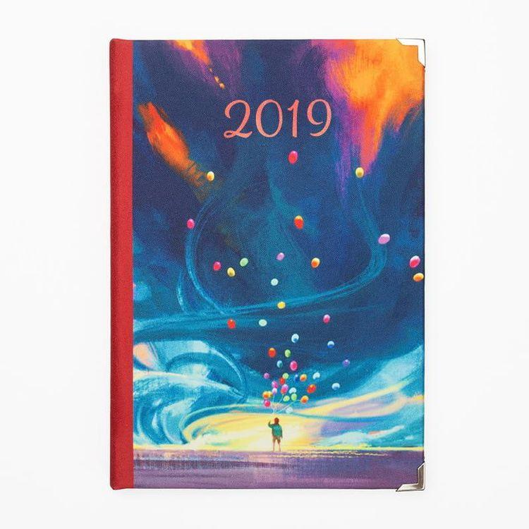 personalised diary 2019
