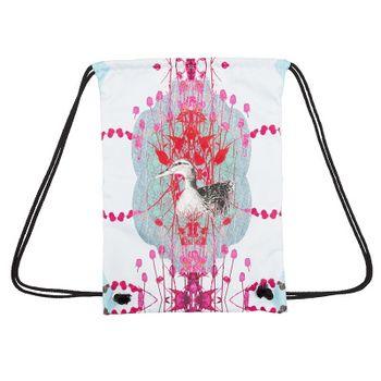 デザインプリント プールバッグ