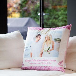 cojin con foto para bodas
