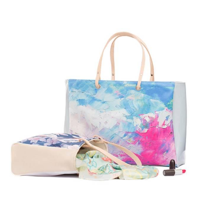 designa din egen handväska av läder