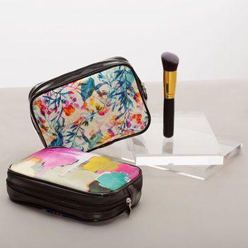 Trousse à maquillage imprimée