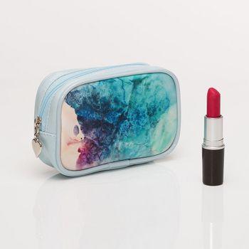 Custom leather purse
