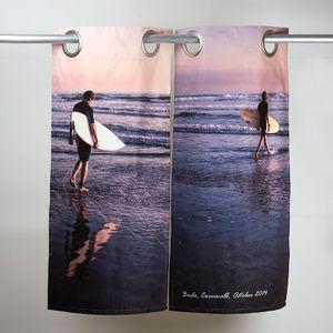 遮光カーテン 印刷