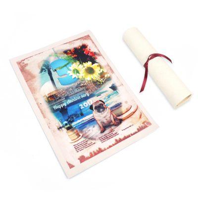 Pergamene Personalizzate in Pelle