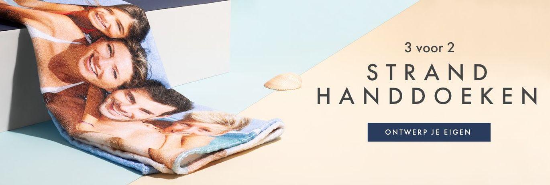 Maak je eigen strandhanddoek