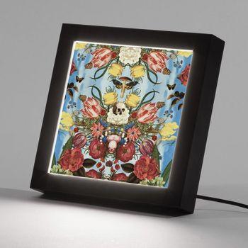 design your own light up box frame