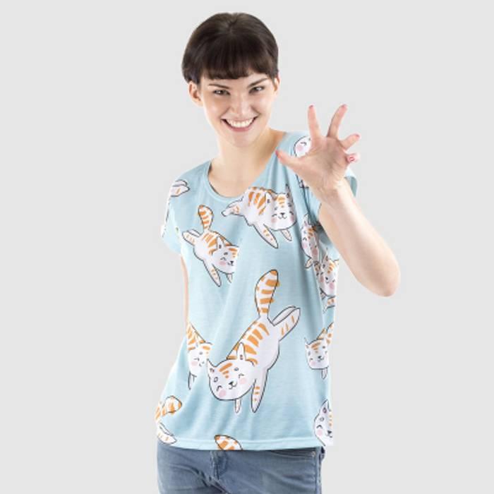 t-shirt ample femme personnalisé