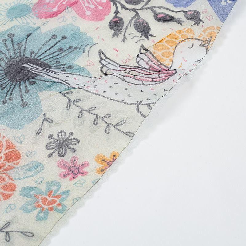 digital printing on Organza fabric