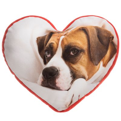 custom heart pillow